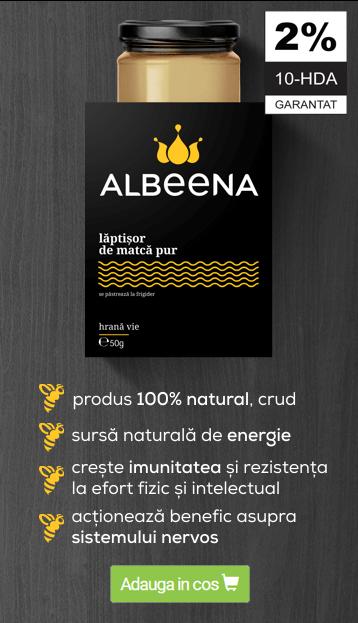 albeena laptisor de matca