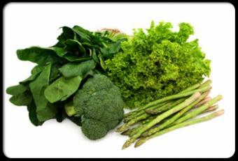 Cele mai bune alimente verzi