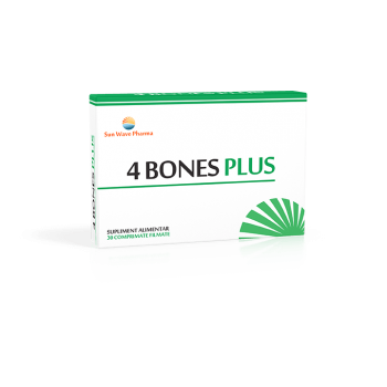 4 bones plus 30 cpr SUN WAVE PHARMA