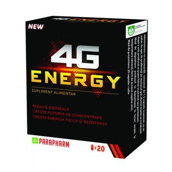4g energy 20 cps PARAPHARM