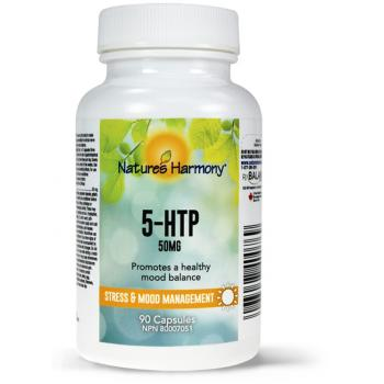 5 htp 50mg 90 cps NATURES HARMONY