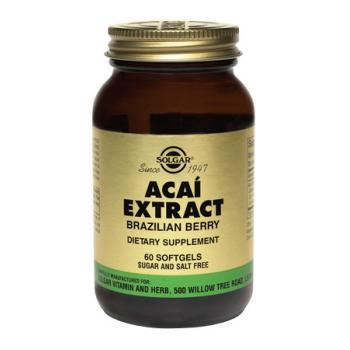 Acai extract 60 cps SOLGAR