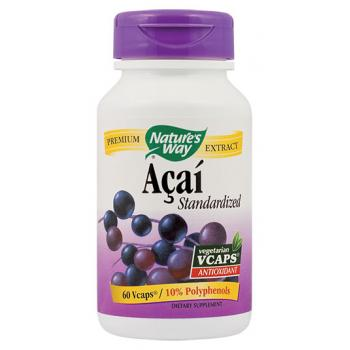 Acai standardized 60 cps NATURES WAY