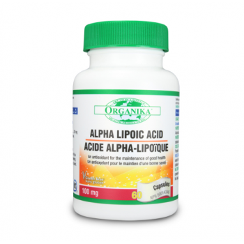 Acid alfa lipoic – 100 mg  60 cps ORGANIKA