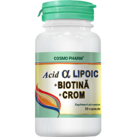Acid alfa lipoic+ biotina+ crom