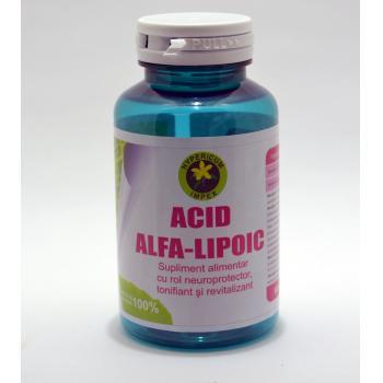 Acid alfa-lipoic 60 cps HYPERICUM