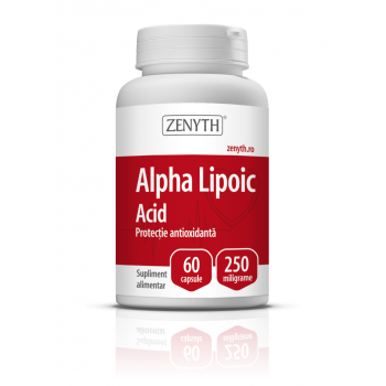 Acid alfa lipoic 250mg 60 cps ZENYTH