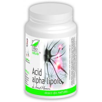 Acid alpha lipoic 60 cps PRO NATURA