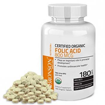 Acid folic 800 mcg 100 cps BRONSON