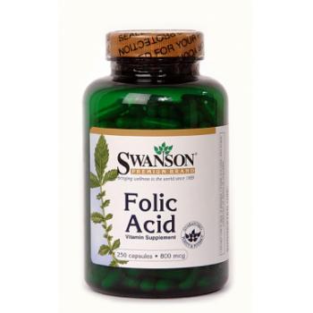 Acid folic 800mcg 250 cpr SWANSON