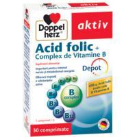 Acid folic +complex de vitamine b
