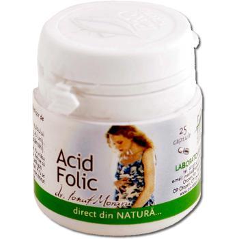 Acid folic 25 cps PRO NATURA