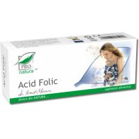 Acid folic 30cps PRO NATURA