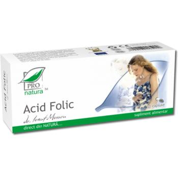 Acid folic 30 cps PRO NATURA