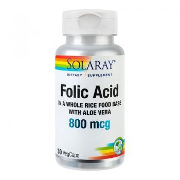 Acid folic 30 cps SOLARAY