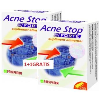 Acne stop forte 30+30 cps PARAPHARM