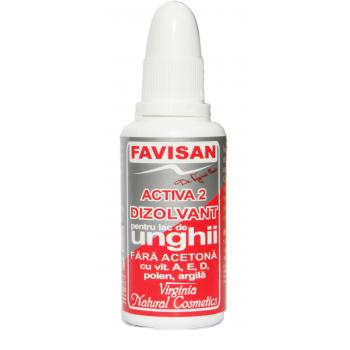 Activa 2 dizolvant fara acetona o002 30 ml FAVISAN