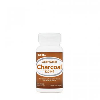 Activated charcoal 520mg  60 cps GNC