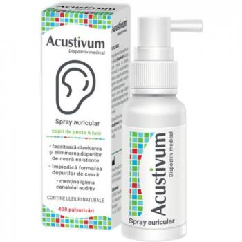 Acustivum spray auricular  20 ml ZDROVIT
