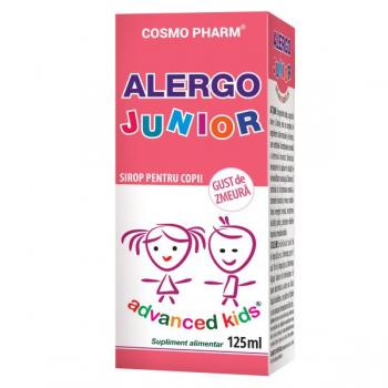 Advanced kids sirop alergo junior  125 ml COSMOPHARM