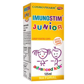 Advanced kids sirop imunostim junior 125 ml COSMOPHARM