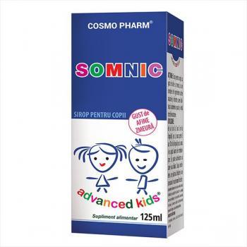 Advanced kids sirop somnic 125 ml COSMOPHARM PREMIUM