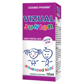 Advanced kids sirop vizual junior 125 ml COSMOPHARM