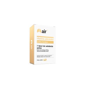 Air 7 vitamina plamanilor pentru fumatori 30 cps