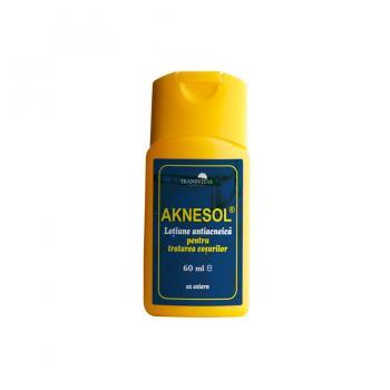 Aknesol-lotiune antiacneica 60 ml TRANSVITAL