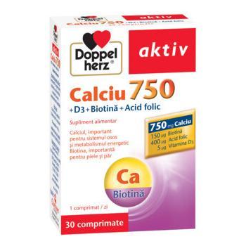 Aktiv ca d3 biotin acid folic 30 cps DOPPEL HERZ