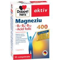 Aktiv magneziu 400 b1+b6+b12 a.folic