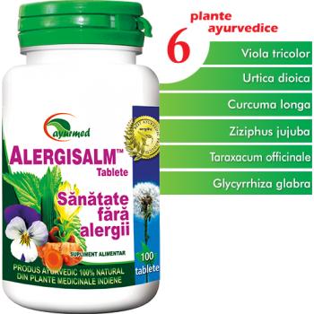 Alergisalm 100 tbl AYURMED