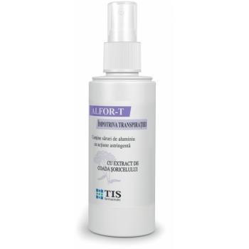 Alfor-t, spray impotriva transpiratiei 110 ml TIS