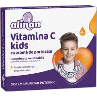 Alinan vitamina c kids aroma portocale