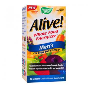 Alive men ultra  30 cpr NATURES WAY