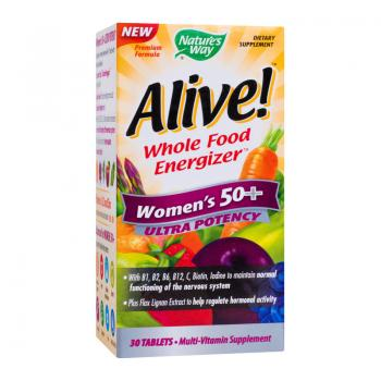 Alive women 50+ ultra  30 cpr NATURES WAY