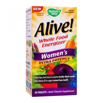 Alive women ultra  30 cpr NATURES WAY