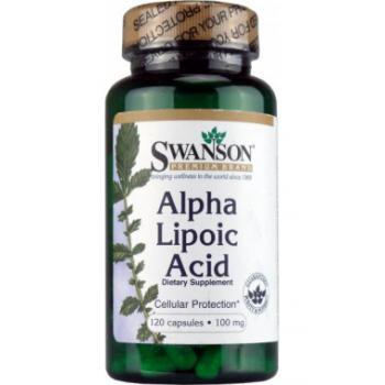 Alpha lipoic acid 100 mg 120 cps SWANSON