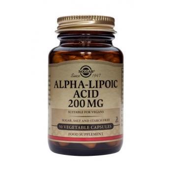 Alpha-lipoic acid 200 mg 50 cps SOLGAR