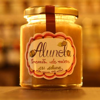 Alunela crema de miere cu alune 200 ml PRISACA TRANSILVANIA
