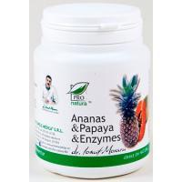 Ananas & papaya & enzymes PRO NATURA
