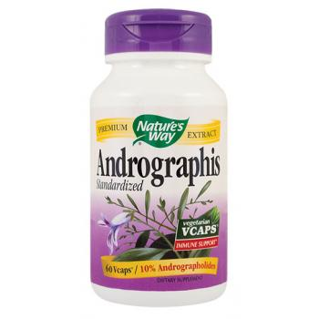 Andrographis standardized 60 cps NATURES WAY