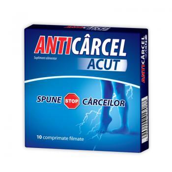 Anticarcel acut 10 cpr ZDROVIT