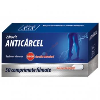 Anticarcel 50 cpr ZDROVIT