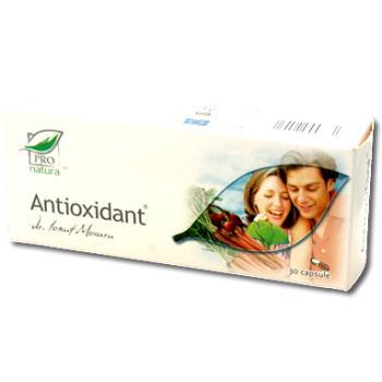 Antioxidant 30 cps PRO NATURA