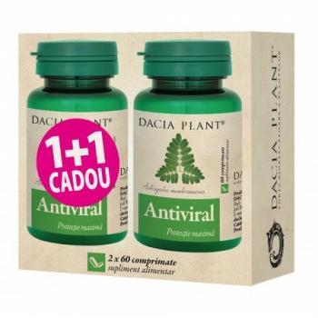 Antiviral 1+1 gratis 60+60 cpr DACIA PLANT
