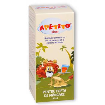 Sirop apetito pentru stimularea poftei de mancare 150 ml BIOEEL
