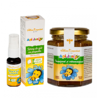 Api junior - imunizant si vitaminizant 200gr + spray de gat propolis Api junior (Gratis)