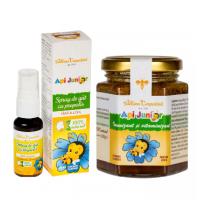Api junior - imunizant si vitaminizant 200gr + spray de gat propolis Api junior (Gratis)