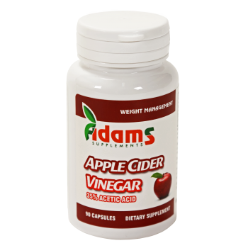 Apple cider vinegar 90 cps ADAMS SUPPLEMENTS